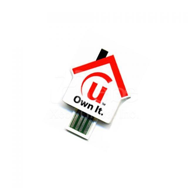 房屋造型usb