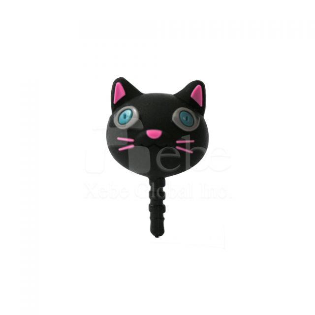 貓咪造型手機防塵塞