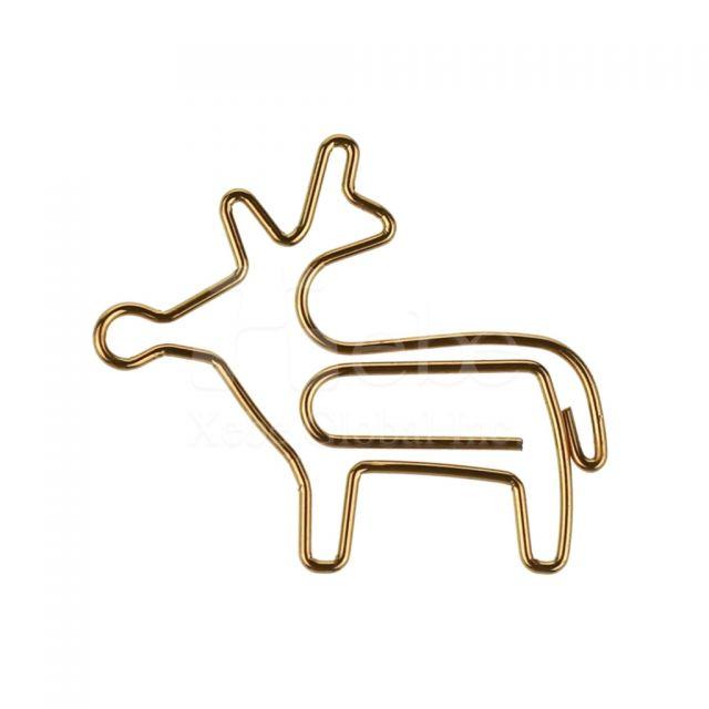 麋鹿造型迴文針