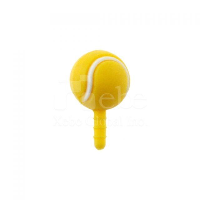 手機孔塞 網球造型耳機塞