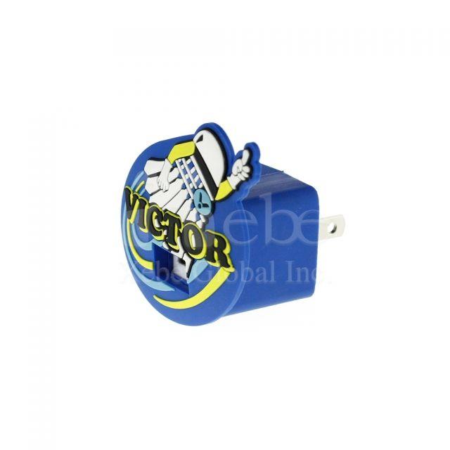 羽毛球造型USB充電器香港 訂造禮品