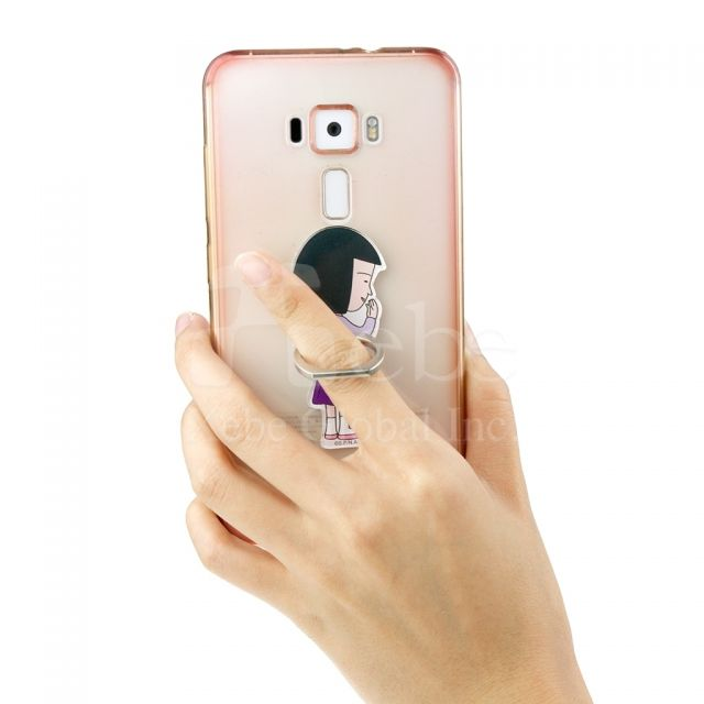 櫻桃小丸子正版商品 野口手機指環