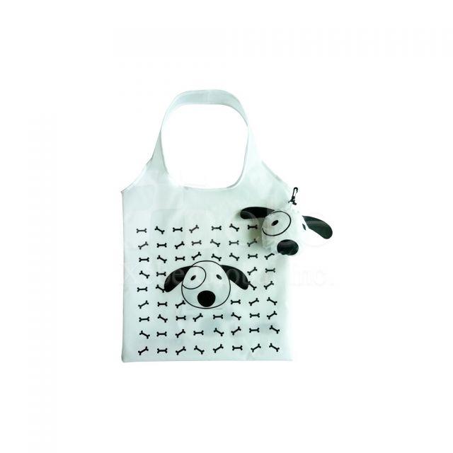 狗狗造型環保袋批發 可收納購物袋製作