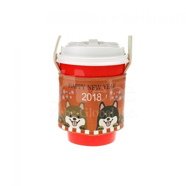 柴犬圖案訂造環保飲品袋 廣告禮物推薦