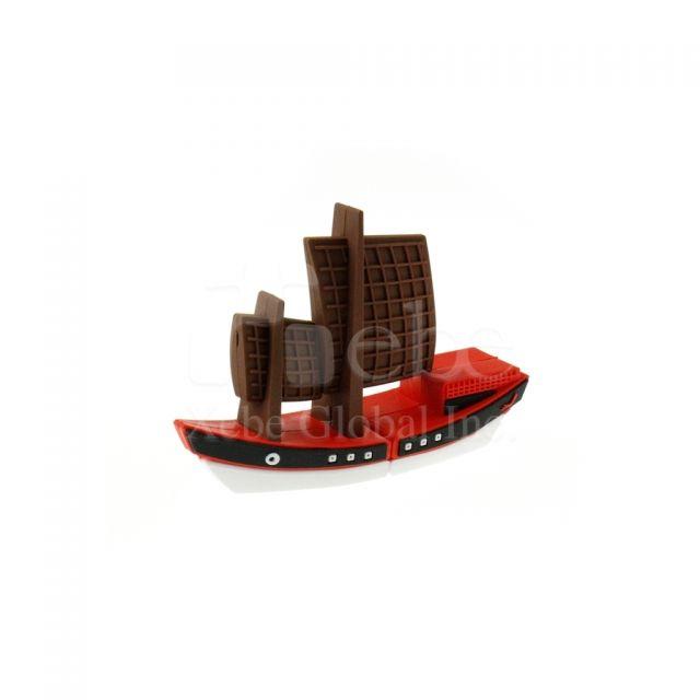 帆船造型U盘 创意礼物推荐