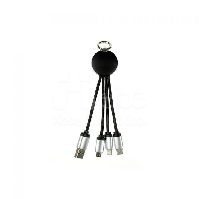八爪魚四合一USB cable充電線 企業禮品