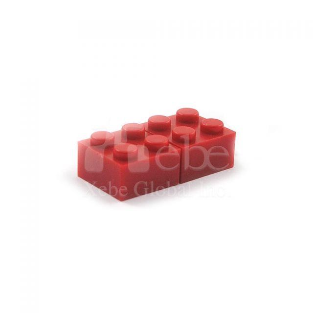 積木造型USB手指 創意禮品