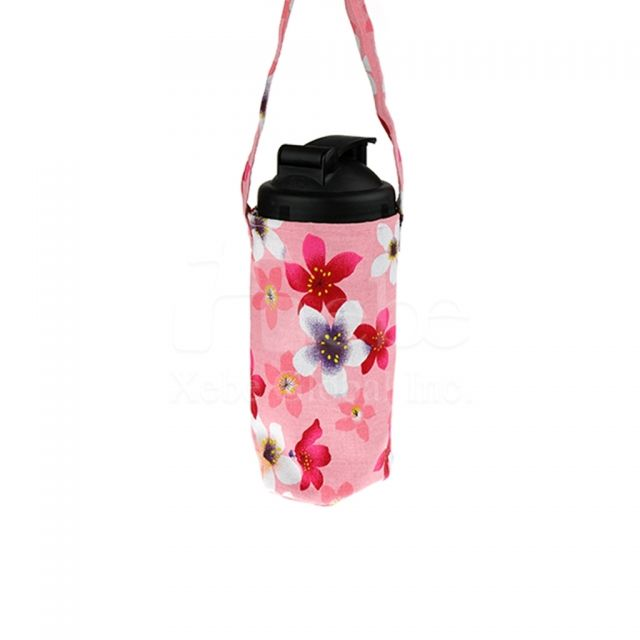 花朵造型環保飲品袋