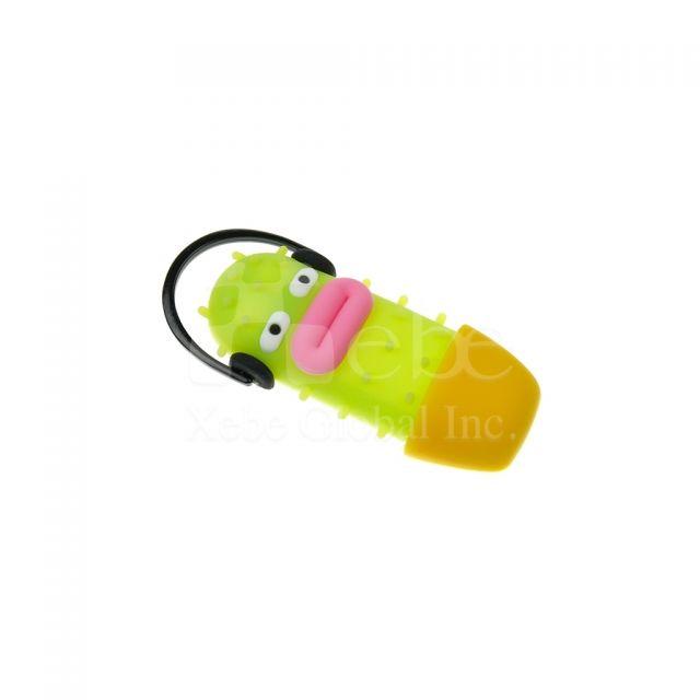 仙人掌之吻造型手機支架 創意禮物