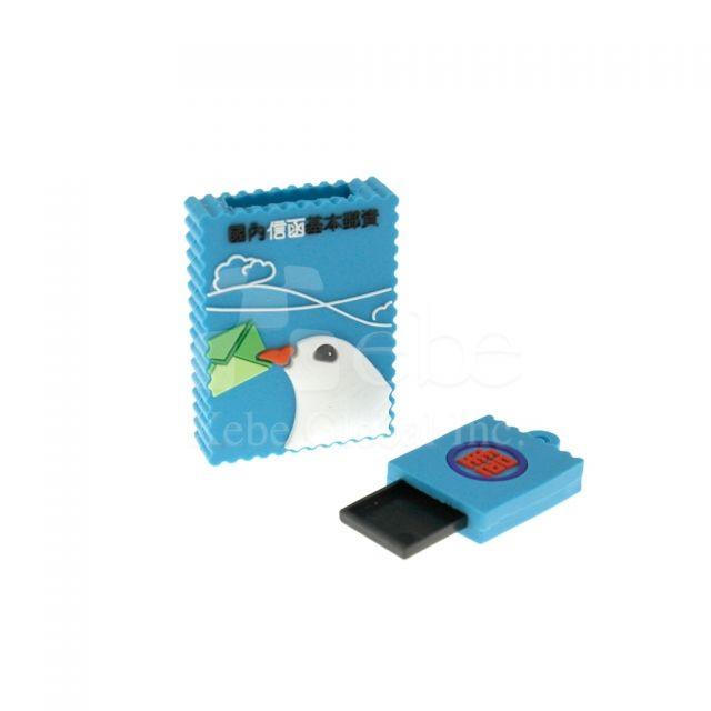 信鴿郵票訂造USB手指 公司禮品