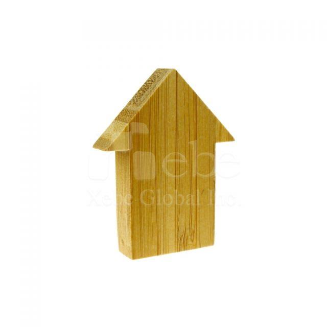 房屋造型木製USB手指 結婚禮物