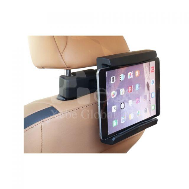 訂造平板支架車用 可旋轉頭枕汽車手機架