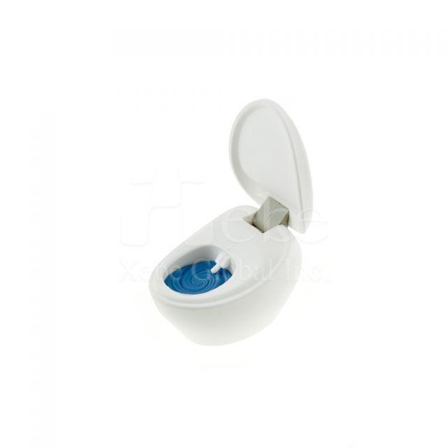 掀蓋馬桶造型USB手指 軟膠開模