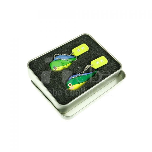 可愛鬼頭刀USB手指 軟膠開模