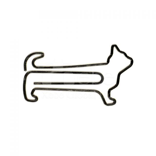 訂造貓咪造型萬字夾