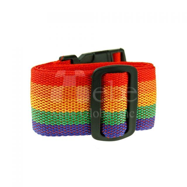 彩虹行李束帶