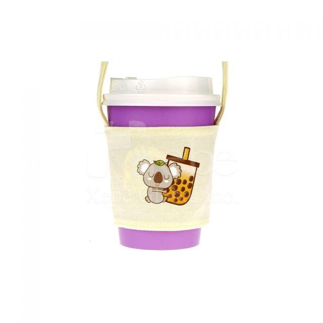 樹熊珍奶飲品袋