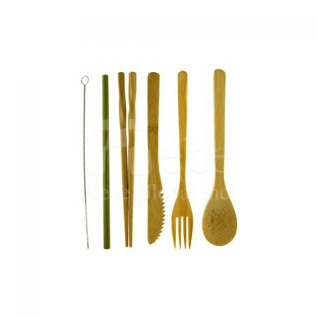 訂造竹製飲管餐具組