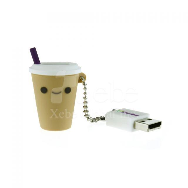 珍珠奶茶造型USB手指