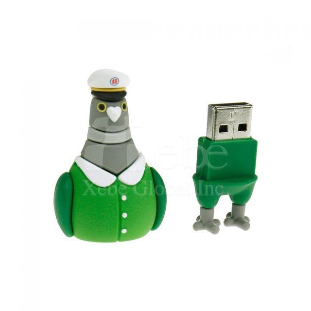 鴿子立體USB手指