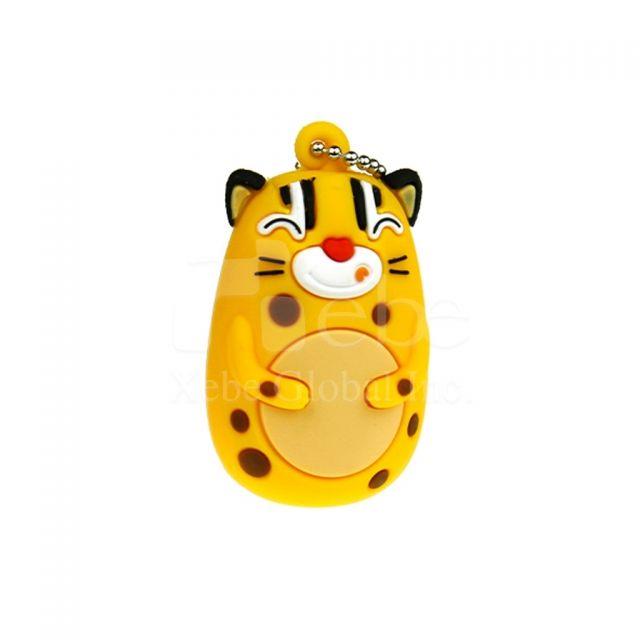 石虎吉祥物造型USB手指製作